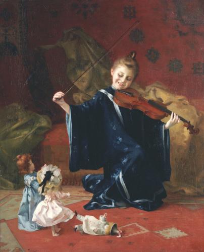 La Danse Des Poupees, 1905 by Louis-Adolphe Tessier