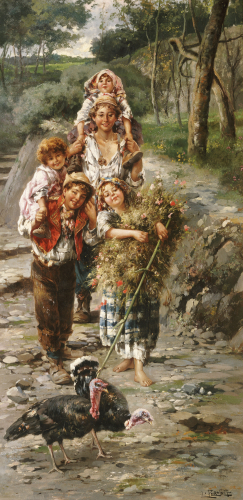 Going To Market by L Pernett