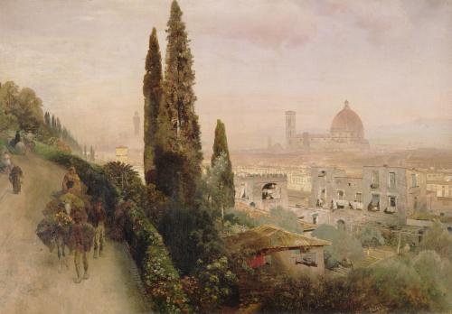 Florence by Oswald Achenbach