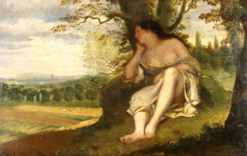 The Nap by Gustave Courbet