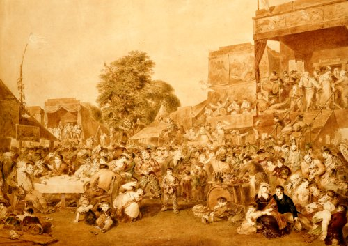 The Fair, Held On The 1st Of August, In Hyde Park, 1815 by James Steffanoff