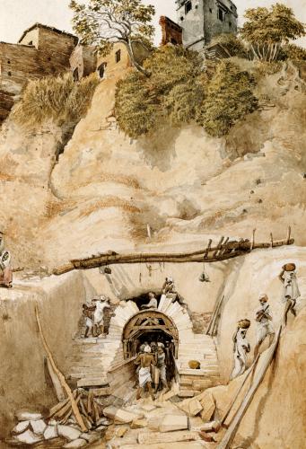 Mineworks, 1826 by James Prinsep