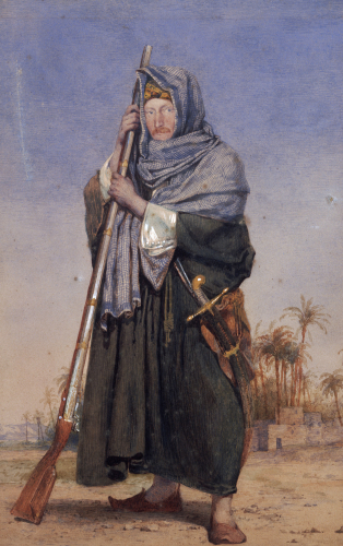 Portrait Of Sir Thomas Phillips In Eastern Costume by Richard Dadd