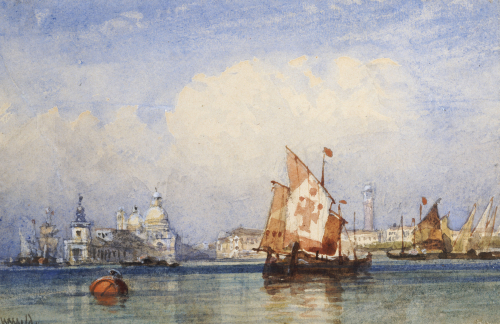 Venice From The Lagoon by William Wyld