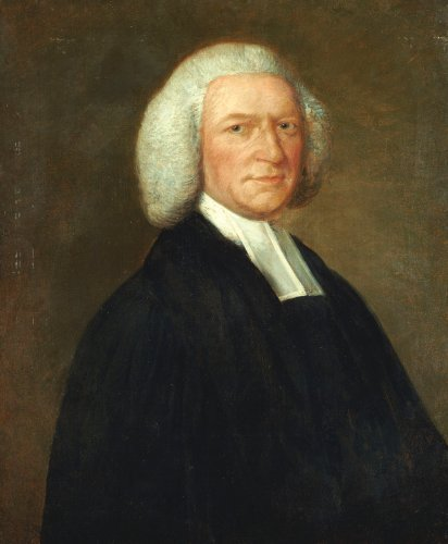 Portrait Of Bishop Woodward, Half-Length, In Clerical Robes, C. 1756 by Thomas Gainsborough
