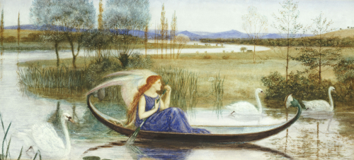 The Enchanted Boat by Walter Crane