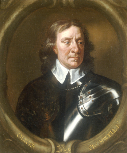 Portrait Of Oliver Cromwell (1599-1658) by Sir Peter Lely