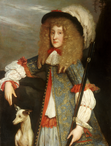 Portrait Of A Young Gentleman by Louis Ferdinand Elle