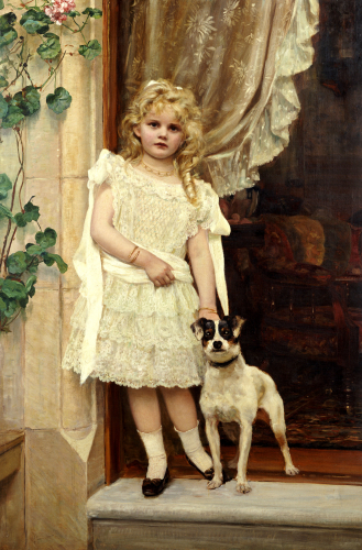 My Best Friend, 1893 by Robert Cree Crawford