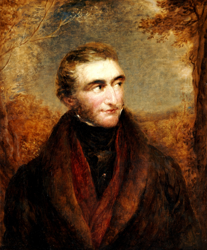 Portrait Of John Mallord William Turner by John Linell