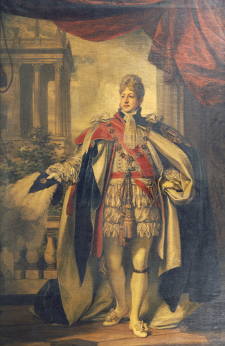 Portrait Of King George IV As Prince Of Wales by Thomas Phillips