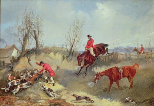 The Kill by Henry Alken
