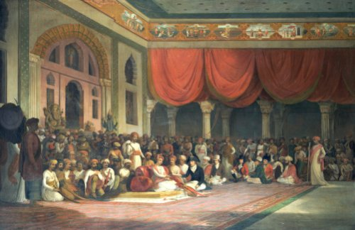 Sir Charles Warre Malet, The British Resident At The Court Of Poona, 1805 by Thomas Daniell
