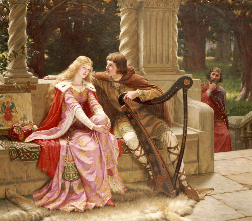 The End Of The Song, 1902 by Edmund Blair Leighton