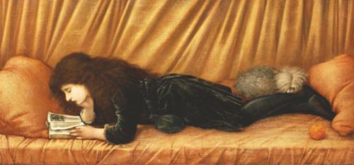 Katie Lewis, 1886 by Sir Edward Burne-Jones