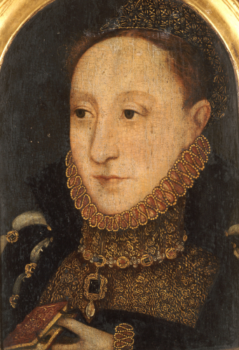 Portrait Of Queen Elizabeth I, Circa 1565 by English School