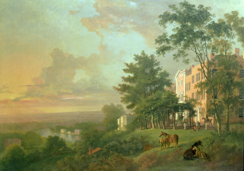 A View From The Terrace, Richmond Hill by George Barrett