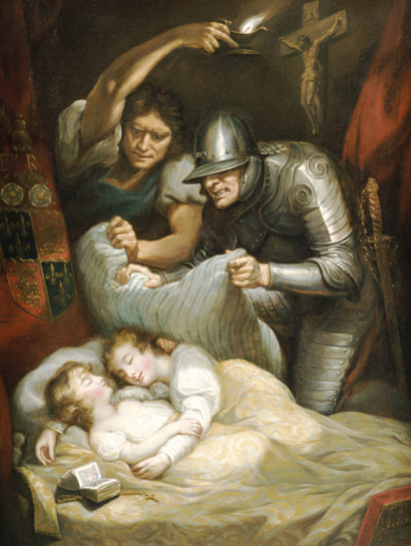 The Princes In The Tower by James Northcote