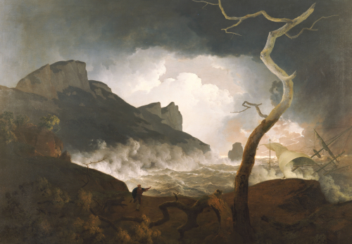 The Storm, Antigonus Pursued By The Bear -The Winters Tale by Joseph Wright Of Derby