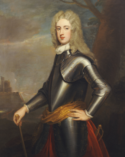 Portrait Of Brigadier-General Lord William Hay Of Newham by Sir Godfrey Kneller