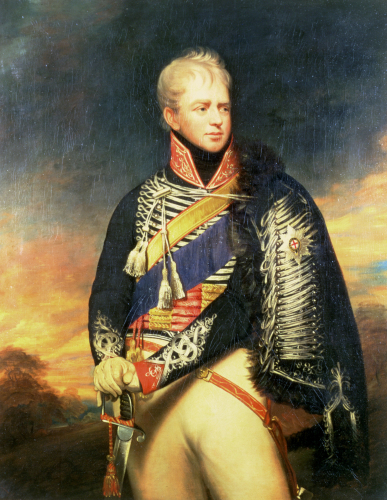 Portrait Of Ernest, Duke Of Cumberland And King Of Hanover by Sir William Beechey