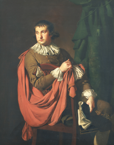 Portrait Of William Stafford by Joseph Wright Of Derby
