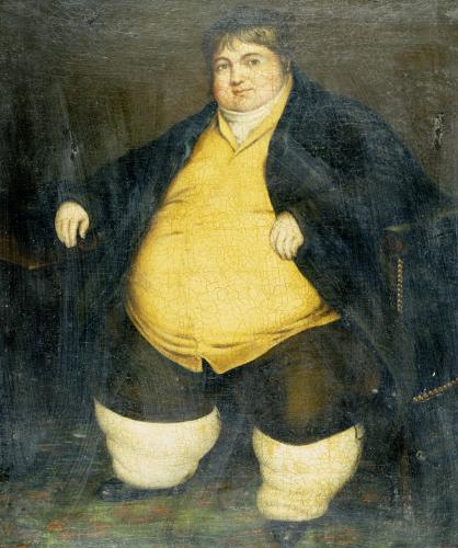 Portrait Of Daniel Lambert (1770-1809) by English School