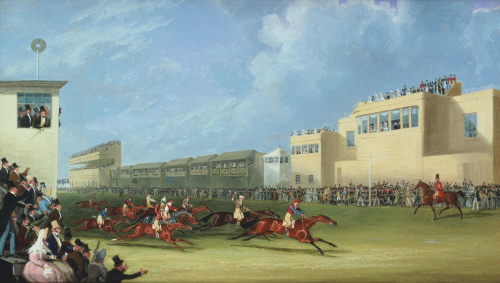 The Ascot Gold Cup, 1834 by James Pollard