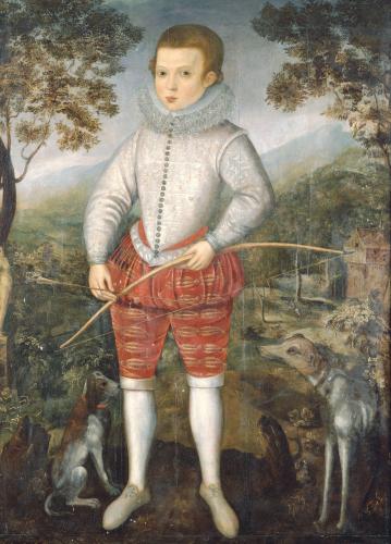 Portrait Of A Boy, 1596 by Robert Peake