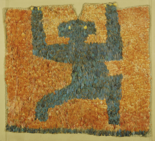 Nasca Feathered Panel, With The Figure Of A Monkey by Christie's Images