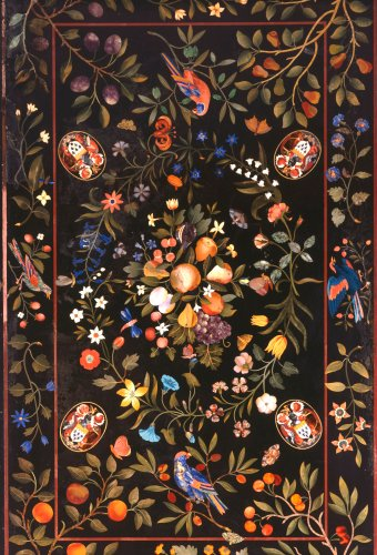 A Florentine Pietra Dura Table Top Inlaid With Various Marbles, Circa 1670 by Christie's Images