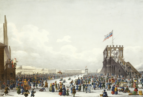 Les Montagnes Des Glace. Views Of St. Petersburg And Environs, 1821 by Christie's Images