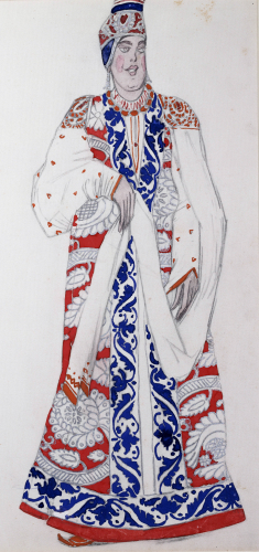 Costume Design For The Production Moskwa, 1922 by Leon Bakst