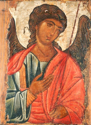 The Archangel Michael. Provincial Byzantine by Christie's Images