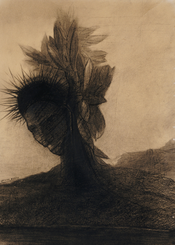 The Male Tree. L'Homme Arbre by Odilon Redon