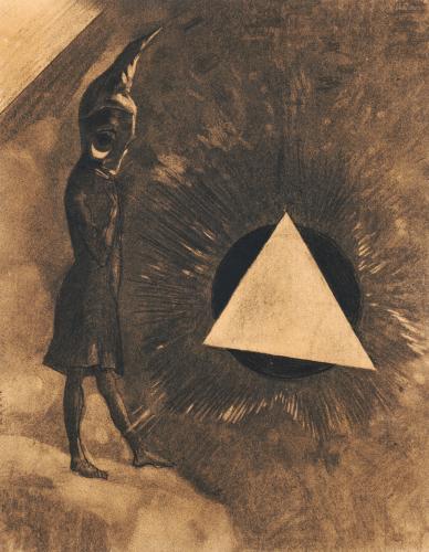 Souci D'Absolu... Philosophe by Odilon Redon