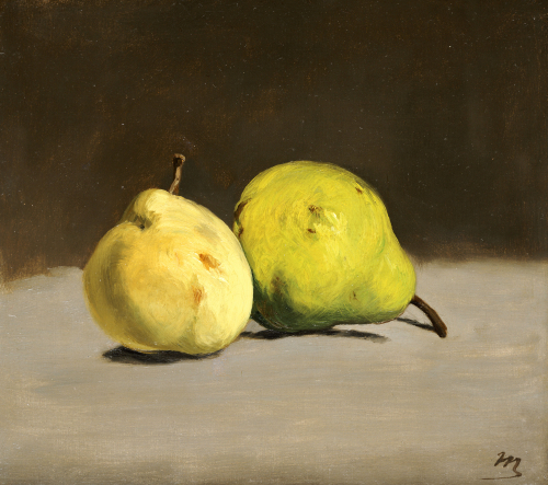 Two Pears. Deux Poires, 1864 by Edouard Manet