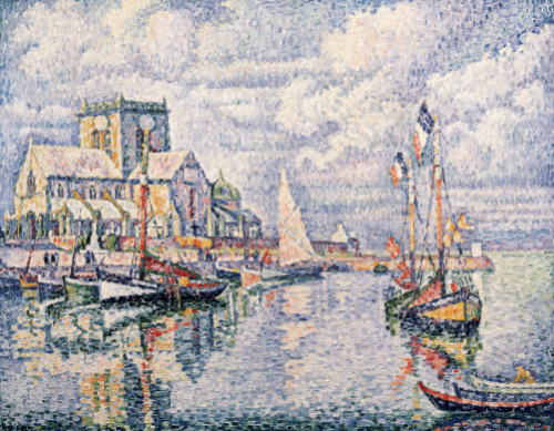 Le Port De Barfleur, 1931 by Paul Signac