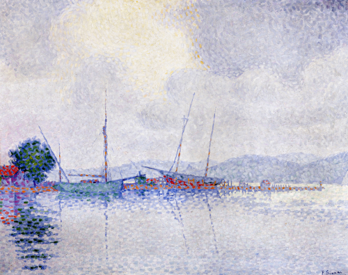 Saint-Tropez, After The Storm, 1895 by Paul Signac