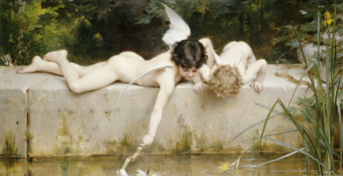 The Rescue, 1894 by Emile Munier
