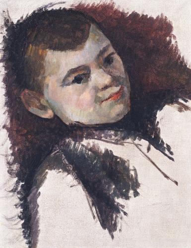 Portrait Of Paul Cezanne, Son Of The Artist, Circa 1885 by Paul Cezanne