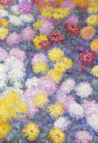 Chrysanthemums, 1897 by Claude Monet