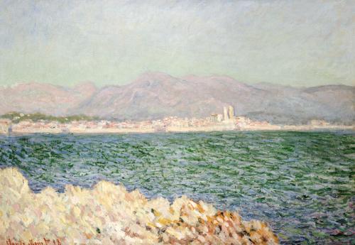 Golfe D'Antibes, 1888 by Claude Monet