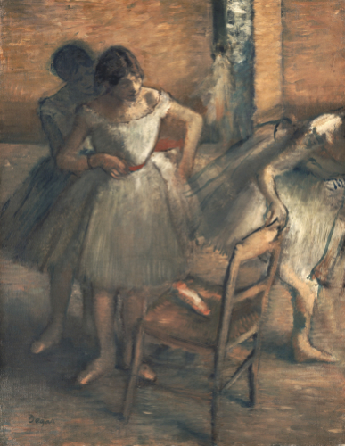 Dancers. Danseuses, 1895 by Edgar Degas