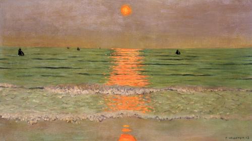 Sunset, 1913 by Felix Vallotton