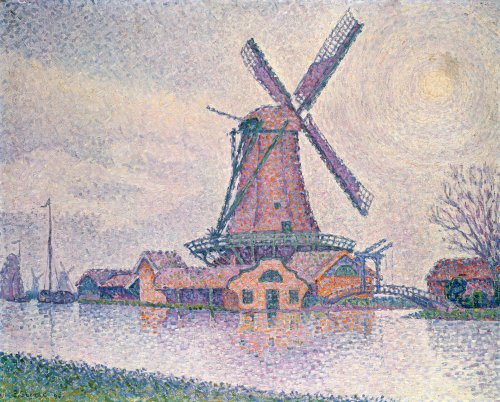 Moulin D'Edam, 1896 by Paul Signac