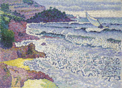 La Mer Clapotante, Circa 1903 by Henri-Edmond Cross