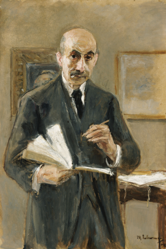 Self Portrait, 1916 by Max Liebermann