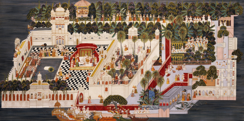 The Lake Palace. Udaipur by Christie's Images