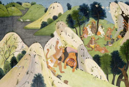 Hindur And Some Monkey Princes, Circa 1820 by Christie's Images
